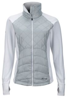 Wm's Nitra Jacket, Bright Steel/White, medium