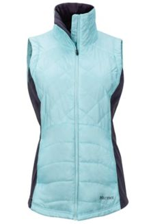 Wm's Nitra Vest, Blue Tint/Dark Charcoal, medium