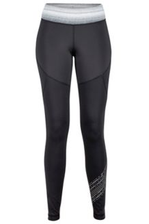 Wm's Fore Runner Tight, Black/Grey Storm, medium
