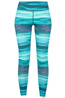 Wm's Everyday Tight, Malachite Scramble, medium