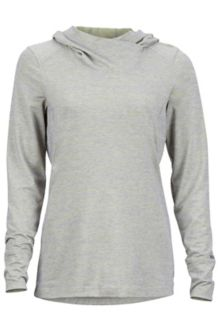 Wm's Margo Hoody, Grey Storm, medium