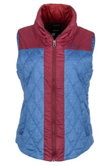 Wm's Abigal Vest, Sailor Heather/Port, medium