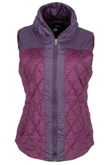 Wm's Abigal Vest, Red Grape Heather/Nightshade, medium