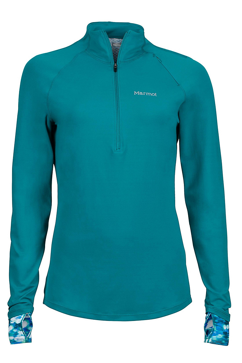 Wm's Excel 1/2 Zip, Malachite/Malachite Brights, large