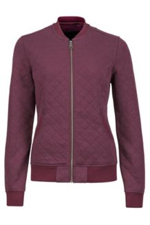 Women's Marlow Jacket, Burgundy, medium