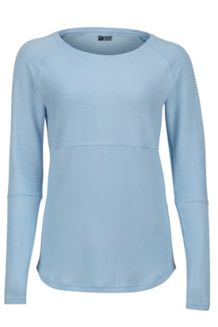 Women's Cassidy LS Shirt, Iceberg, medium