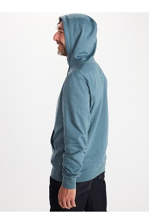 Men's Coastal Hoody, Steel Heather, medium