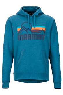 Men's Coastal Hoody, Moroccan Blue Heather, medium