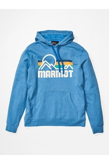 Men's Coastal Hoody, Varsity Blue Heather, medium