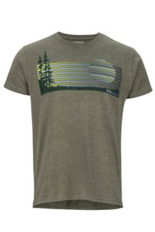 Verge SS Tee, Olive Heather, medium