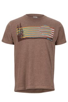Verge SS Tee, Brown Heather, medium