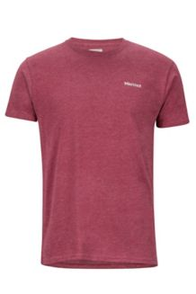 Frame SS Tee, Burgundy Heather, medium