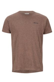 Frame SS Tee, Brown Heather, medium