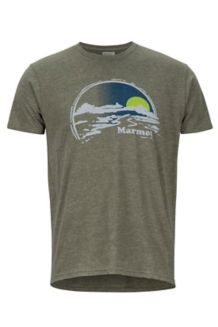 Weaver SS Tee, Olive Heather, medium