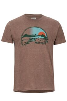 Weaver SS Tee, Brown Heather, medium