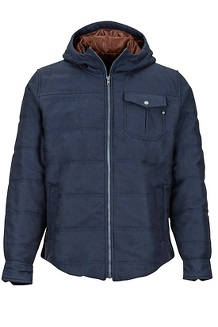 Banyons Insulated Hoody, Dark Indigo, medium