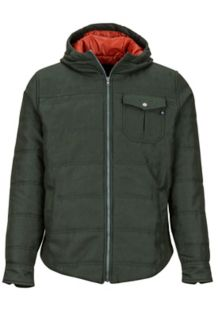 Banyons Insulated Hoody, Dark Spruce, medium
