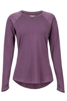 Women's Nevis LS Shirt, Vintage Violet, medium