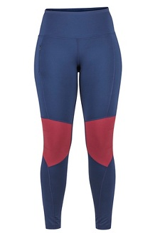 Women's Trail Bender Tights, Arctic Navy/Claret, medium