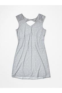 Women's Annabell Dress, Sleet Polkadot, medium