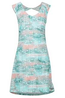 Women's Annabell Dress, Double Mint Softwater, medium