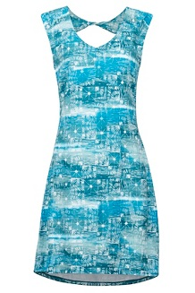 Women's Annabell Dress, Skyrise Softwater, medium