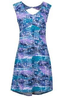 Women's Annabell Dress, Vintage Violet Softwater, medium