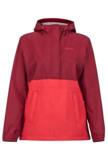 Wm's PreCip Anorak, Brick/Scarlet Red, medium