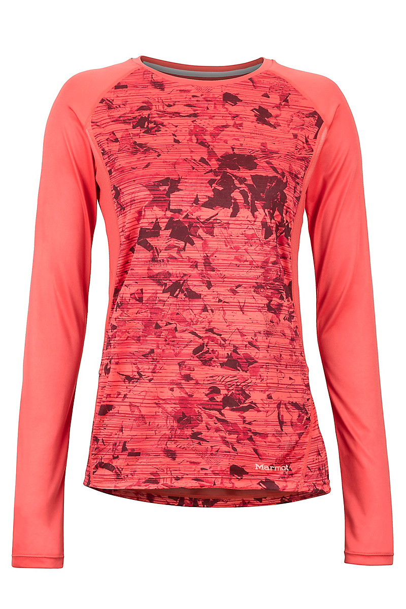 4404fecee9b Women's Crystal LS Shirt, Flamingo Mind Game, large