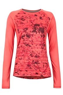 Women's Crystal LS Shirt, Flamingo Mind Game, medium