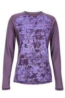 Women's Crystal LS Shirt, Vintage Violet Mind Game, medium