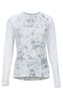 Women's Crystal LS Shirt, White Mind Game, medium