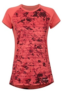 Women's Crystal SS Shirt, Flamingo Mind Game, medium