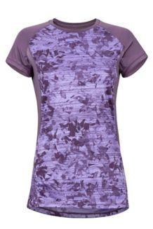 Women's Crystal SS Shirt, Vintage Violet Mind Game, medium