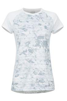 Women's Crystal SS Shirt, White Mind Game, medium