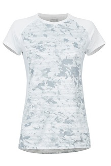 Women's Crystal SS Shirt, White Mind Game, medium