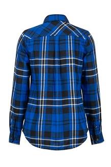 Women's Joss Lightweight Flannel LS Shirt, Surf, medium