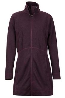 Women's Emilee Jacket, Burgundy, medium