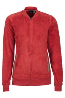Women's Olson Jacket, Desert Red/Cappuccino, medium