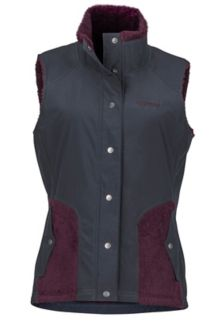 Women's Mia Vest, Dark Steel/Dark Purple, medium