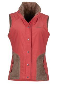 Women's Mia Vest, Desert Red/Cappuccino, medium