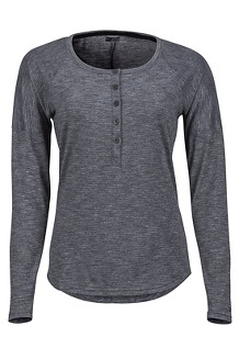 Women's Jayne LS Shirt, Dark Steel, medium