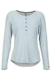 Women's Jayne LS Shirt, Grey Storm, medium