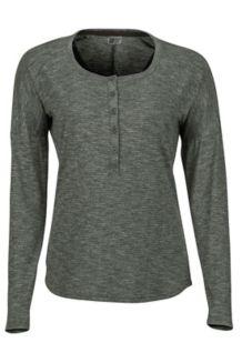 Women's Jayne LS Shirt, Crocodile, medium