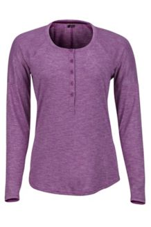 Women's Jayne LS Shirt, Grape, medium