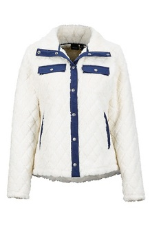 Women's Janna Jacket, Turtledove/Arctic Navy, medium
