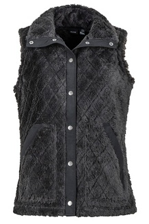 Women's Janna Vest, Black, medium