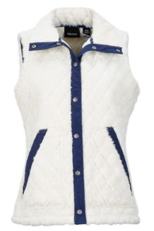 Women's Janna Vest, Turtledove/Arctic Navy, medium