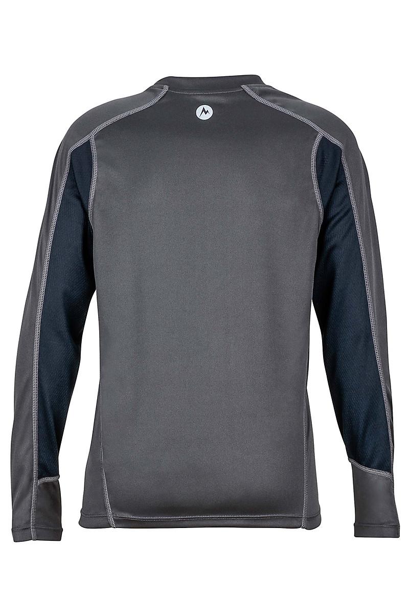 Boy's Windridge with Graphic LS, Slate Grey/Black, large