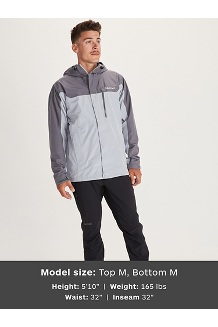 Men's Southridge Jacket, Sleet/Steel Onyx, medium